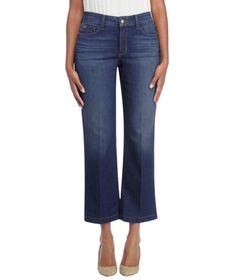 These jeans are all you need to add flare to any outfit. Simply wear them with anything you'd wear a skinny jean with. A bonus? Special construction, called lift-tuck technology, helps create a shapely silhouette.