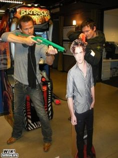 Boondock Saints: And shepherds we shall be, for thee, my Lord, for thee...  hahah awesome.
