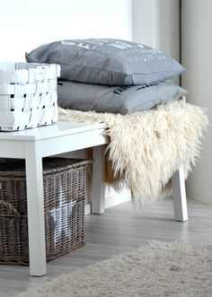 <3 Scandi Style, Nordic Style, Scandinavian Style, Home Decor Inspiration, Simple Style, Rattan, Interior Decorating, Sweet Home, Living Room