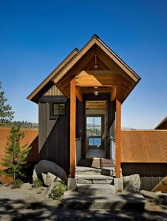 Lake Chelan Cabin| Bernie Baker Architect
