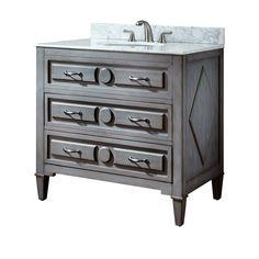 Kelly 36 Inch Grayish Blue Vanity Only Vanities Bathroom Vanities Bathroom Furniture
