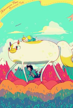 Adventure Time : Fionna and Cake