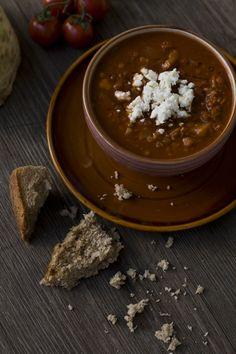 Feines Gemüse > Harira –marokkanische Linsensuppe mit Tomaten und Kichererbsen