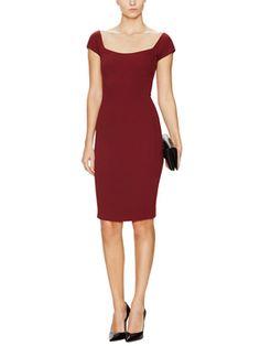 Cap Sleeve Sheath Dress from Luxe Style Feat. Stella McCartney on Gilt