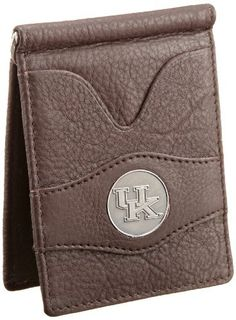 Danbury Men's University Of Kentucky Front Pocket Money Clip, Brown, One Size Danbury. $26.50. 100% Leather. Packaged in collectable gift tin, antique style university ornament in center of wallet. Inside metal currency clip, exterior and interior ID windows, six credit card pockets. Made in India. Hand Wash. Save 17% Off!