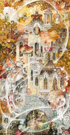 Daniel Merriam..maravilloso ilustrador