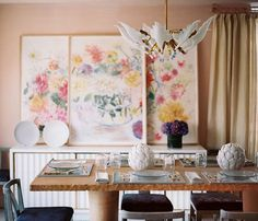 Love this Celerie Kemble dining room