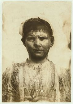 COTTON MILL WORKERS. A unique set of composite photographs by Lewis Hine depicting Southern cotton mill workers. Each image was created by purposively rephotographing several workers upon the same photographic plate.
