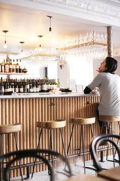 Frenchie restaurant, Boston - descombes & thieulin