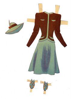 Judy Garland Paper Dolls ...........•❤° Nims °❤•