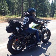 Motorcycle Women - burlybrand