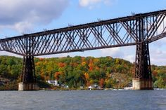Poughkeepsie Highland Railroad Bridge over the Hudson River, New York