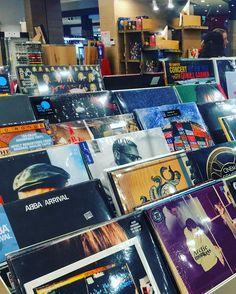 #vinyl #carturesti #bucharest #library #music