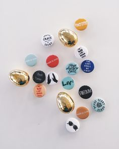 The Easter eggs filled with buttons were so popular that we've added a new product! Now in the shop - 10 random buttons for only $5! Perfect for this years Easter basket! #walkinlove
