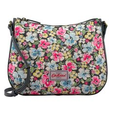 Orchard Blossom Canvas & Leather Cross Body Bag   New In Bags   CathKidston