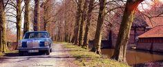 https://flic.kr/p/rY2bme | Mit dem Strich8 zum Haus Runde | Tour mit dem Mercedes-Benz W114 im Münsterland. Weitere Bilder auf www.billerbeck.org