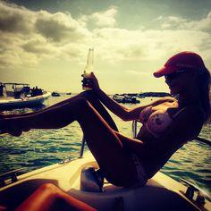 #boating #corona #Ibiza #sunset
