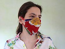 Masques | Cisaline Bandeau, Beauty, Mask Making, Hat, Fabric, Jewerly, Beauty Illustration