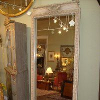 Austin Antique Furniture Texas French European Antiques - Antique Carved Floor Mirror