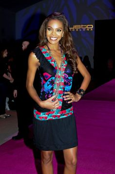 Celebrities wearing Custo - They've got the look! Crystale Stewart - Miss USA