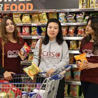 ACASC STUDENTS IN THE SUPERMARKET