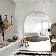 Would you like to join me for a dream escape today?(images via San Giorgio Mykonos)