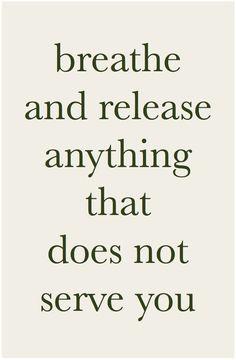 Breathe and release #mindfulness #lettinggo #meditation http://www.bluebarnjuice.com