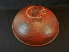 Beehive bowl in red