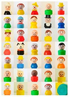 Little People. Fisher price!!!! I spent hours playing with these and their homes as a kid!!!!!
