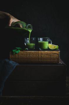 Zelené smoohie / Green smoothie Nutribullet, Smoothie, Green, Butter, Drinks, Fit, Smoothies, Drinking, Shake