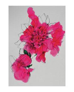 Neon Bloom Wall Art Prints by Sonal Nathwani | Minted