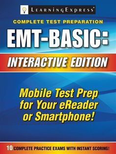 64 best study guides aides images on pinterest test preparation emt basic exam by learning express llc fandeluxe Gallery