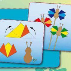 Bunte Bastelideen für den Sommer Schmetterlinge, Marienkäfersteine, Papierperlen