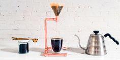 DIY: koperen slow-coffeemaker