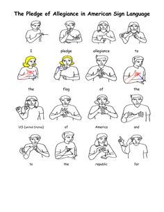 A sign language is a complete and comprehensive language of its own. It is not just some gestures which are random and used to convey a meaning. Sign language also has a set of grammar rules to go by. This language is mainly used by p Sign Language Phrases, Sign Language Alphabet, Sign Language Interpreter, Australian Sign Language, British Sign Language, Prayer Signs, Lord's Prayer, Sign Language For Toddlers, Ancient Alphabets
