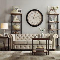 Kingstown Home Carthusia Tufted Button Sofa I - Wayfair