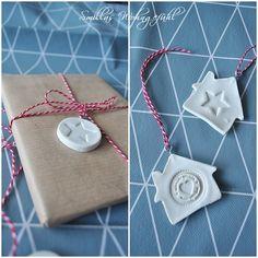 DIY Anleitung für Geschenkanhänger kaltes Porzellan
