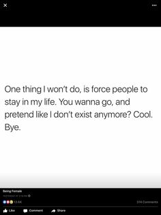Never. If they want to stay they will stick with you no matter what