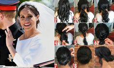 Hairdresser reveals his guide to recreating Meghan's 'messy bun'