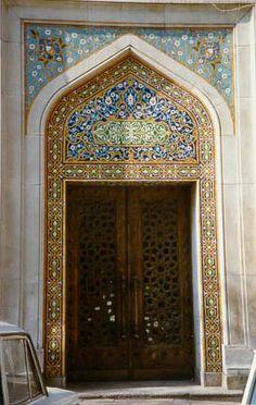 Mosaic Surround, Door