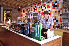 Everyman Espresso by hereiskaty, via FlickrI like how low the counters are
