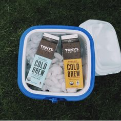 Mornings are easier to bear when you've got cold brew coffee that was delivered to your porch.