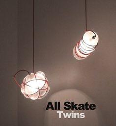 "All Skate - ""Twins"" album art."