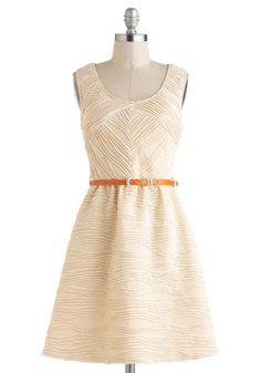 <3 Modcloth  Nude Dress #2dayslook  #jamesfaith712 #NudeDress  www.2dayslook.com