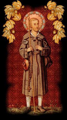 Saint Benedict Joseph Labre (26 March 1748 - 16 April 1783)