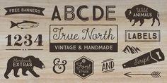 Font dňa – True North (zľava 50%, od 3,50€) - http://detepe.sk/font-dna-true-north-zlava-50-od-350e/