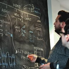 We really like this photo by @weareadaptable of the intense blackboarding of a sitemap and Information Architecture. A great exercise.  Tag a friend  and follow @weareadaptable . #wireframing #digital #interface #mobile #design #application #ui #ux #webdesign #app #userinterface #photoshop #userexperience #inspiration #materialdesign #uxdesignmastery #creative #dribbble #time #behance #appdesign #sketch #designer #website #programming #art #work #concept #amazing #uxdesigning by…