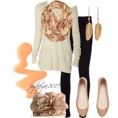Neutrals, created by sydneyac2017 on Polyvore