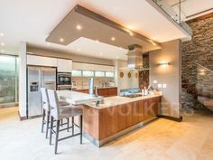 For this Johannesburg-based family, a second home only a short flight away was the deciding factor when buying this home on the Zimbali coastal estate, near Ballito in KwaZulu-Natal. Quartz Bathroom Countertops, Kitchen Confidential, Home Kitchens, Interior Decorating, Calming, Table, Furniture, Creative, Home Decor
