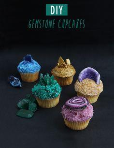DIY Gemstone Cupcakes by Alana Jones-Mann